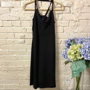 J. Crew Black Halter Dress, Sz 8, NWT